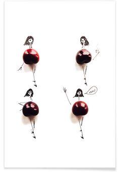 Cherry - Gretchen Roehrs - Premium Poster