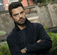 Dominic Cooper Photos - Actor Dominic Cooper poses during a portrait session at the 2017 Toronto International Film Festival September in Toronto, Ontario. / AFP PHOTO / VALERIE MACON - Dominic Cooper Photos - 136 of 1689 Dominic Cooper, Man Crush Monday, 2017 Photos, International Film Festival, Convention Centre, Photo L, Ontario, Actors & Actresses, Toronto