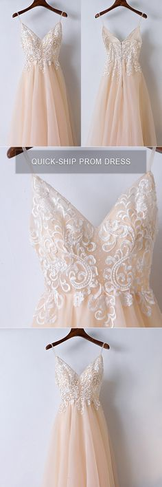Only $118, Prom Dresses Boho Champagne Lace Long Prom Dress With Spaghetti Straps #MYX18059 at #GemGrace. View more special Bridal Party Dresses,Prom Dresses,Homecoming Dresses now? GemGrace is a solution for those who want to buy delicate gowns with affordable prices. Free world-wide shipping, 2018 new arrivals, shop now to get $10 off!