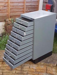 Ten Drawer Metal Filing Cabinet | eBay