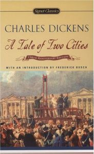 A Tale of Two Cities -  Written in the 1800's, arguably Charles Dickens' greatest literary works, A Tale of Two Cities has sold over 200 million copies.