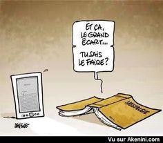 Papier VS Numérique - Book VS new technologies