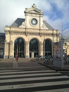 Namur, la gare. Train station of Namur, Belgium