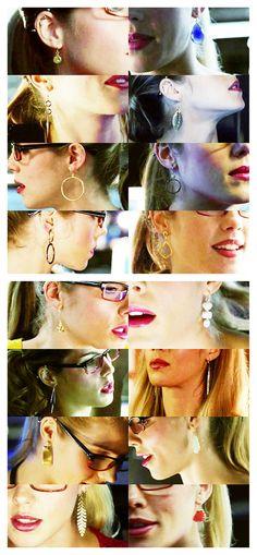 Felicity Smoak + Earrings