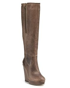 Steve madden wedge boots...Mama needs some wedge boots