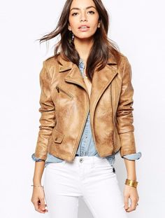 New Look Biker, $72 | 27 Motorcycle Jackets Under $100 To Cozy Up In This Fall