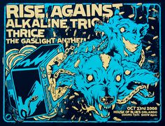 Rise Against, Alkaline Trio, and Thrice