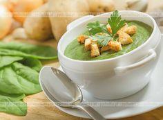 Zupa krem szczawiowy z ziemniakami