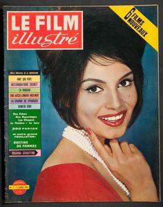 Rosanna Schiaffino - Le Film Illustre Magazine Cover [France] (1 July 1961)