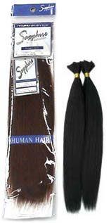 Human Hair Blend Yaki Bulk