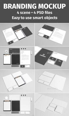 Branding Stationery Mockup vol. 2 (Stationery)