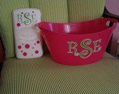 baby wipe case, the tub I did for T's 1st bday was more like this
