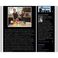 The Exercise & Nutrition Blog (Kindle Edition)  http://www.rereq.com/prod.php?p=B002TYYXRQ  B002TYYXRQ
