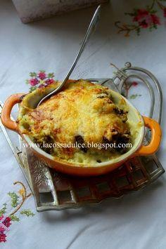 Brócoli con bechamel de calabacín receta