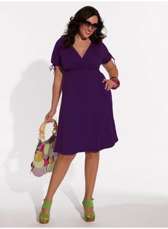 Angie Dress in Mulberry Purple