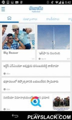 Eenadu - Official News App  Android App - playslack.com , Please note: This app is curated by Eenadu editors. It has all the content of the e-paper and more, and is totally free to use Eenadu (Hyderabad, Telangana and Andhra Pradesh) - official free app connects you to your favorite Telugu Language newspaper anywhere you are, anytime you want to read it. The Eenadu app offers everything a Telugu news reader is looking for. Get 24/7 access to breaking news on politics, business…