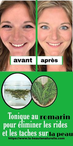 Rosemary tonic to eliminate wrinkles and spots on the skin Beauty Tips For Face, Diy Beauty, Beauty Makeup, Beauty Hacks, Lotion Tonique, Makes You Beautiful, Glowing Skin, Skin Care, Joelle