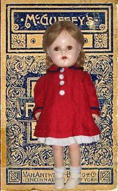 "1930s Madame Alexander 15"" McGuffy Ana"