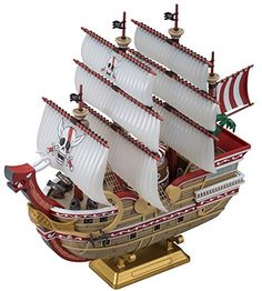 Bandai Hobby Sailing Ship Collection Red Force One Piece Model Kit ** You can find out more details at the link of the image.
