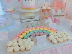 arcoiris de cupcakes