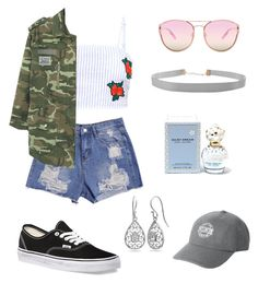 """""""Casual"""" by jessica-l-black on Polyvore featuring MANGO, Vans, Quay, Victoria's Secret, Belk Silverworks, Humble Chic and Marc Jacobs"""