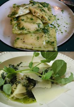 Recipe | Easy Four Cheese Ravioli with Pesto ... #healthy #main dish #lunch