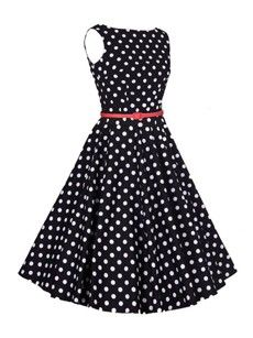 Polka Dot Swing Sparkling Skater Dress