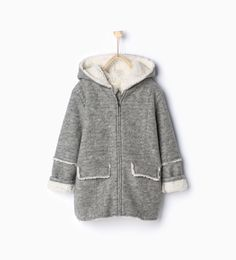 Image 1 of Double-face knit jacket from Zara