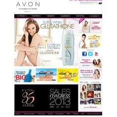 Visited Avon.com.ph and was pleasantly surprised to see our SSS campaign on the cover! Hi @xianlimm you're here too! Go visit the website @avonph see you on the 24th for the sales con!Photo by @ilovegeorgina