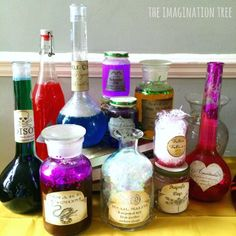 Harry Potter Potions Class Science Activity - The Imagination Tree