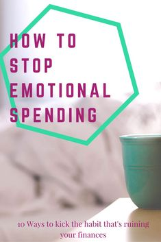 Do you find yourself spending more money when you are upset? Find out how to stop the emotional spending, and maybe make some money instead.