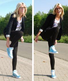 Nike Blazer Mid With Jeans