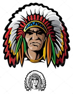 Find Indian Chief stock images in HD and millions of other royalty-free stock photos, illustrations and vectors in the Shutterstock collection. Thousands of new, high-quality pictures added every day. Chiefs Mascot, Clip Art Pictures, Red Indian, Indian Pictures, Mundo Comic, Native Art, Native American Indians, Comic Art, Illustration