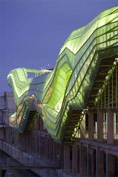 ♂ Modern architecture design Les Docks, Paris, 2012