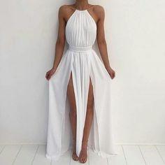 Белое платье. Длинное платье. Платье макси. Летнее платье. Платье на выпускной.