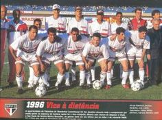1996 - Fotos de Os Jogadores do Sao Paulo FC