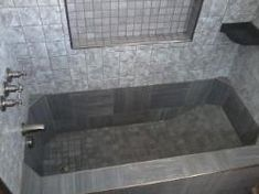 1000 Images About Powder Room On Pinterest Concrete Bathtub Tubs And Bath
