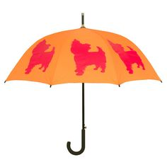 Yorkshire Terrier Walking Stick Umbrella