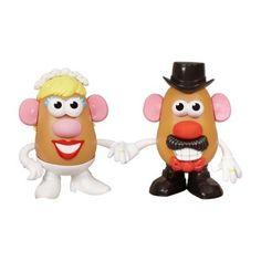 Sr y Sra Patatas de boda
