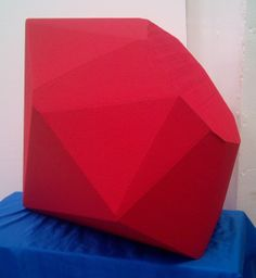 giant gem stone props meaning