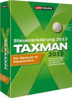 Taxman Rentner & Pensionäre 2013 (für Steuerjahr 2012)