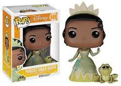 POP! DISNEY 149: THE PRINCESS AND THE FROG - PRINCESS TIANA & NAVEEN