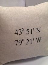 Coordinates Custom Linen Pillow Linen Pillows, Bed Pillows, Pillow Cases, Pillows