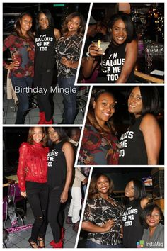 """My birthday this year was amazing...... Vegas, Concerts, Events, Dinners, Dancing, Game Nights...... I am truly blessed.... and still celebrating!! #ScorpiosGoHard LOL Here are a few snapshots from one of my birthday events w/ fellow Scorpio Robin Pettit at #MondayNightMingle."""