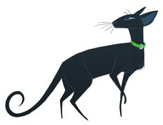 117: Oriental Shorthair Photos of these cats popped up on my dash and I couldn't resist drawing them. So cool looking!
