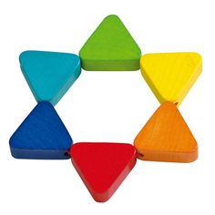 Trix Grasping Toy (Haba)   This site has AMAZING wood/natural material Montessori toys for all ages!!