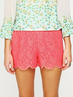 I need these Free People shorts, too.