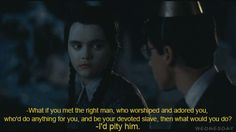 Wednesday Addams - This is the best relationship of all time!!