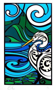 Shane Hansen : Piopiotahi Kotuku - Clever Bastards: The best of New Zealand art & design