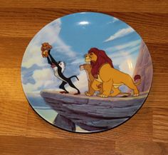 "Disney ""The Lion King"" Collector's Plate"